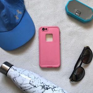 Lifeproof pink FRE case (iPhone 6/6s)